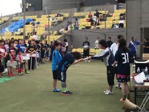 川崎杯泉レディースフットサル大会の結果