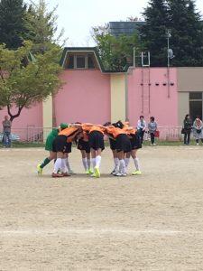 U12 リスペクトリーグ 第1ステージ・1回戦目の結果