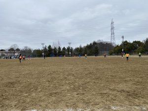 1月24日(日)5年生以下練習試合を行いました
