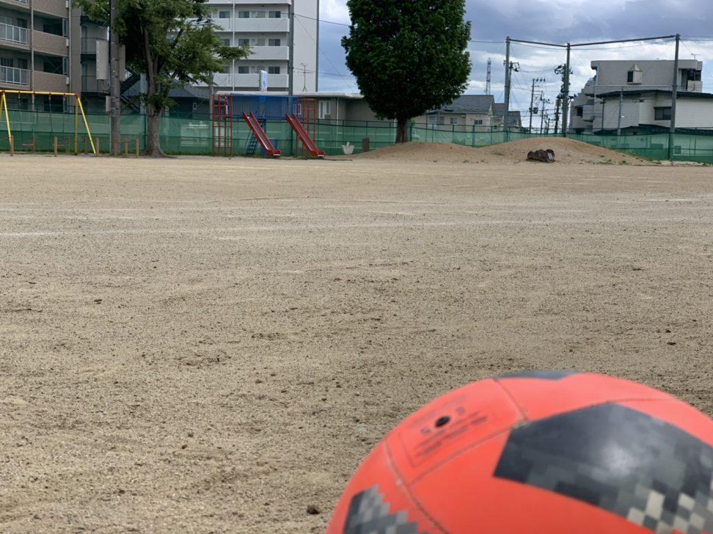 5月30日(日)の新田小学校練習