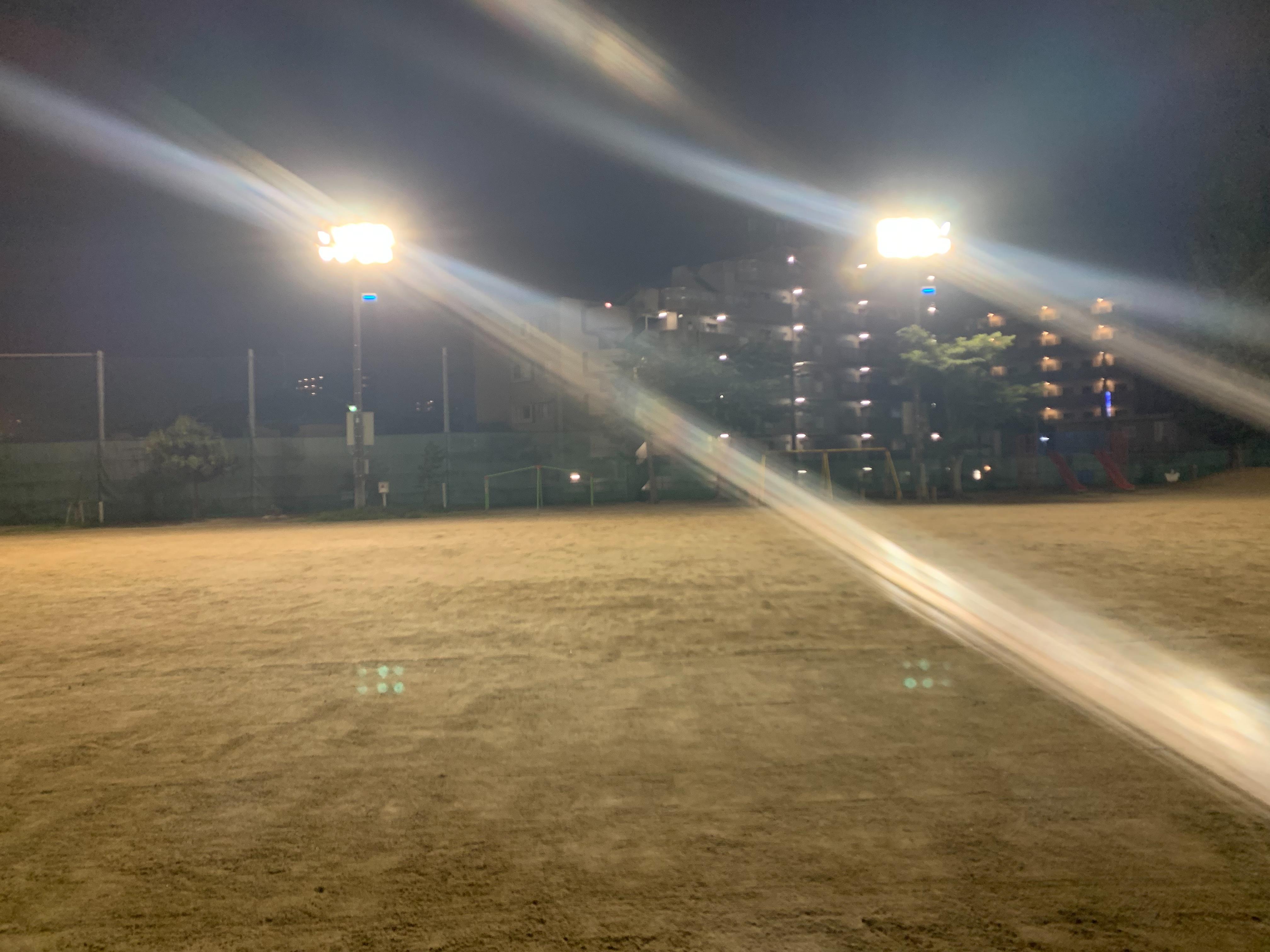 7月15日(木)新田小学校の練習