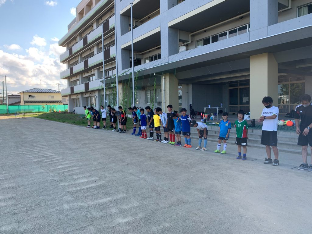 7月24日(土)・25日(日)の新田小学校の練習